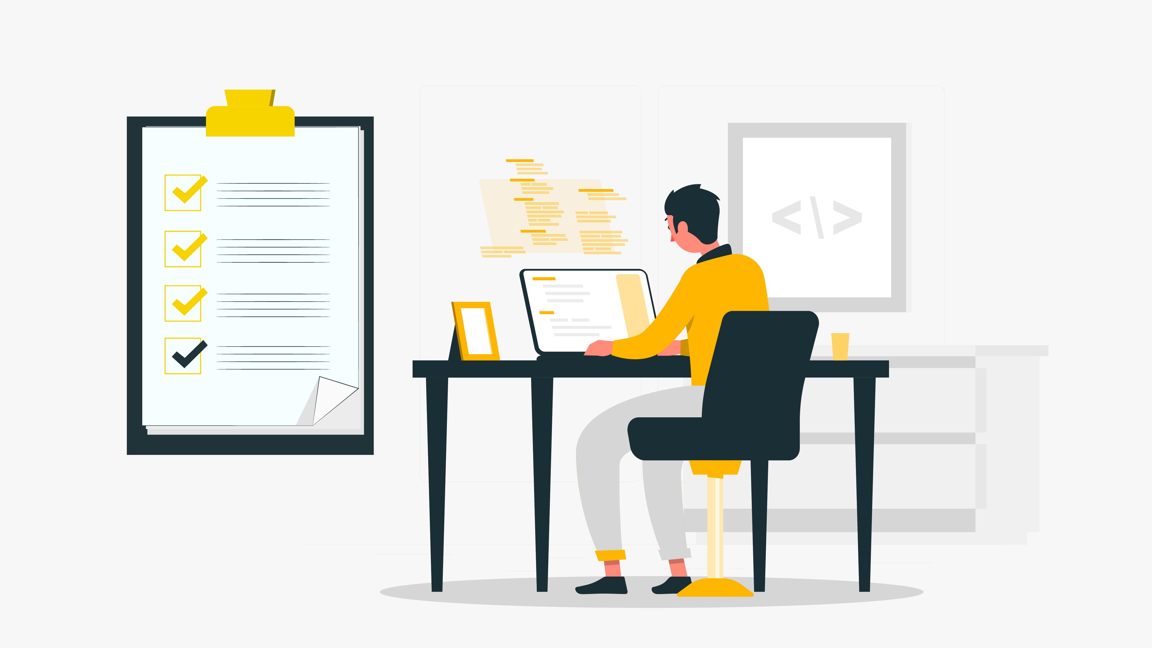 Checklist when finalizing a remote development team
